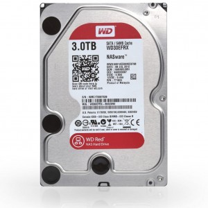 HDD WD RED 3TB WD30EFRX SATA III 64MB